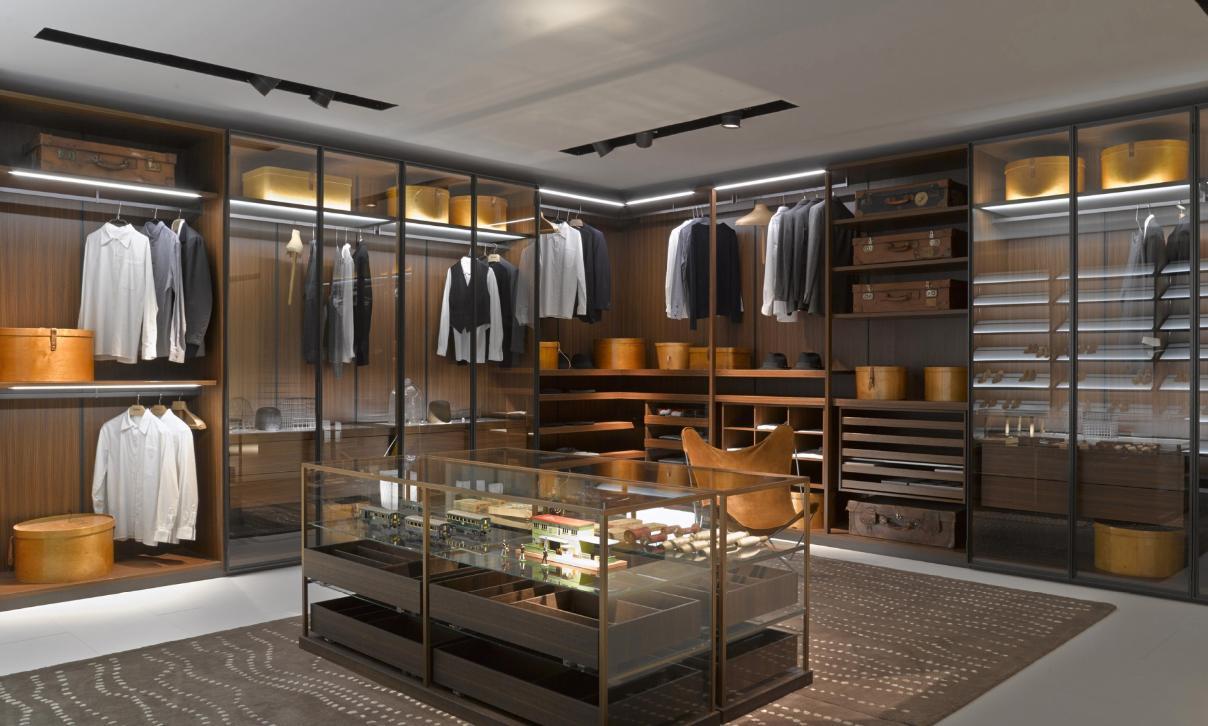 porro vestidores de lujo con extra de almacenaje - Vestidores De Lujo